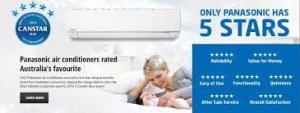 Panasonic ducted air conditioning Perth canstar