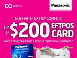 Panasonic wall split special P