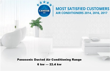 Panasonic ducted air conditioning Perth